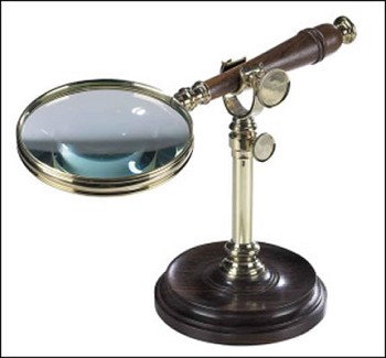 Magnifying Glass w/ Stand