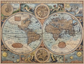World of 1626 Map