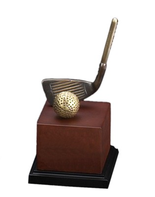 Large Golf Trophy
