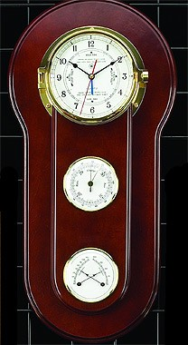 Tide/Time Clock, Barometer, Thermometer/Hygrometer Weather Station