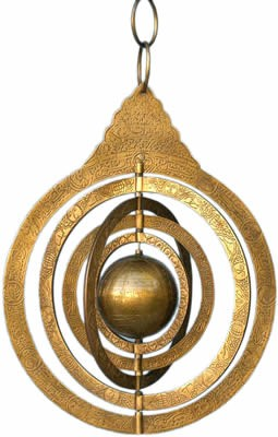 Solid Brass Astronomical Armillary