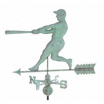 Antique Copper Batter Weathervane