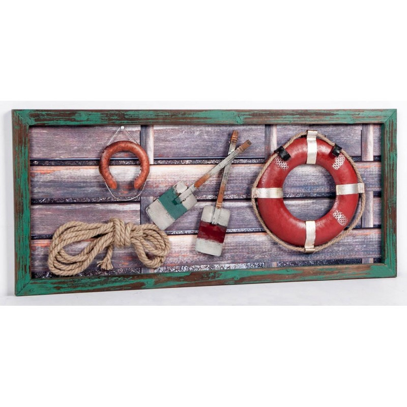 Distressed Nautical Wall Plaque