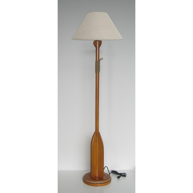 Oar Floor Lamp