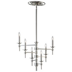 Nickel Chandelier