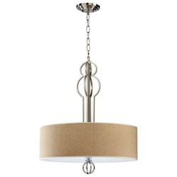 Nickel Pendant Light