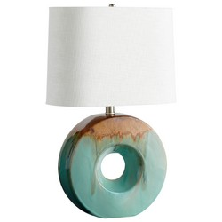 Blue Glaze Table Lamp