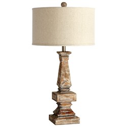 Parsons White Table Lamp