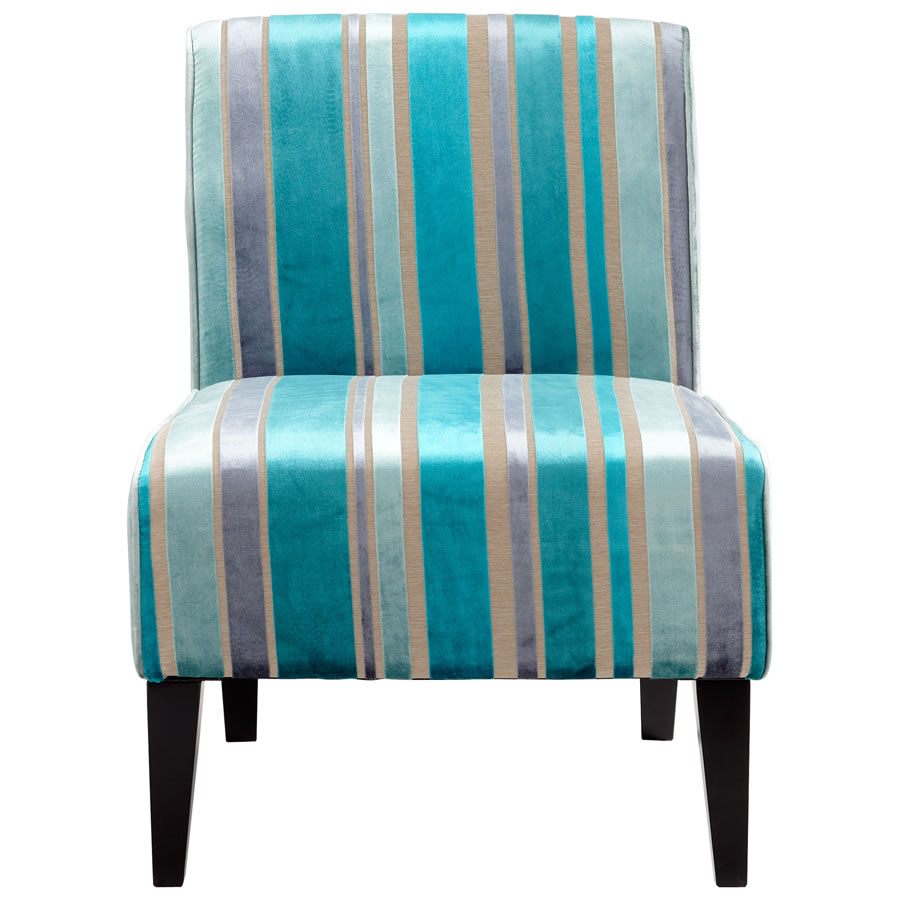 Ms. Stripy Blue Chair