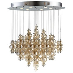Cognac Bubbles Pendant Light