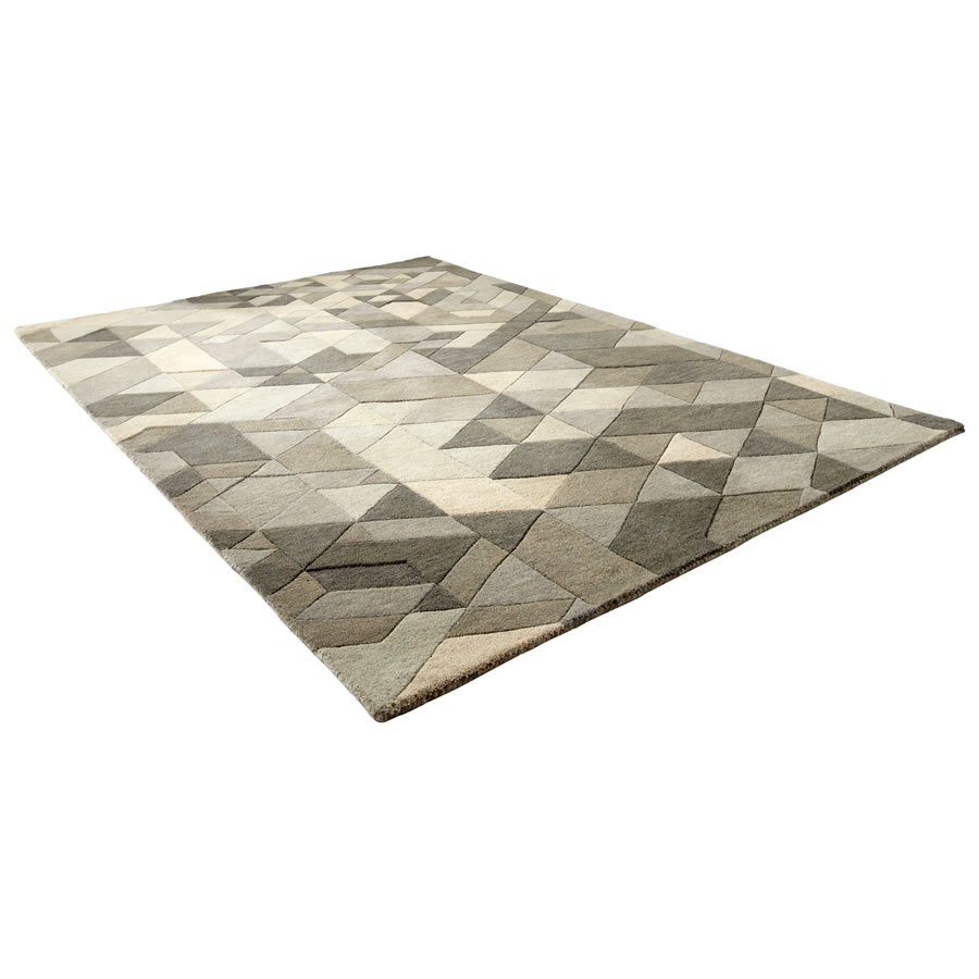 Large Facets Rug