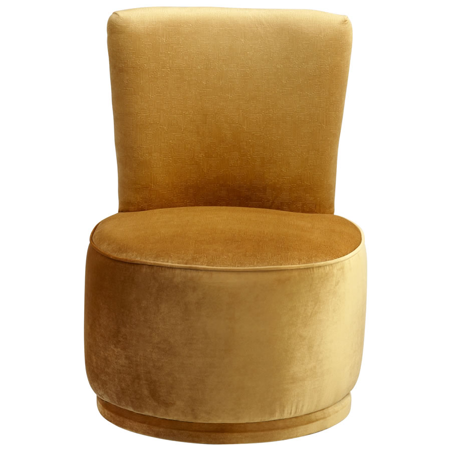 Gold Apostrophe Chair