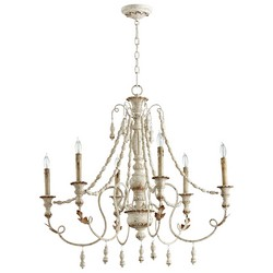 Persian White Chandelier