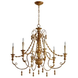 French Umber Chandelier