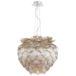 Cognac Glass Pendant Light