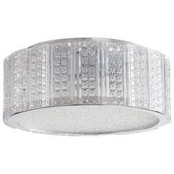 Clear Glass Ceiling Mount Light
