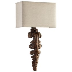 Limed Gracewood Wall Sconce
