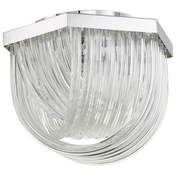 Chrome Ceiling Mount Light