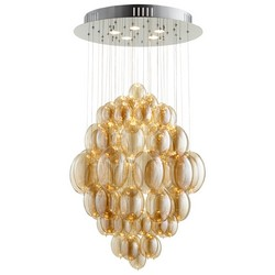 Amber Glass Pendant Light