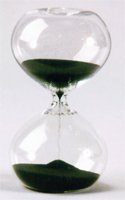 30 Minute Modern Glass Sand Timer