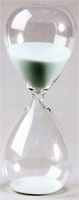 60 Minute Modern Glass Sand Timer