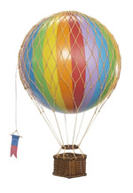 Rainbow Travels Light Hot Air Balloon