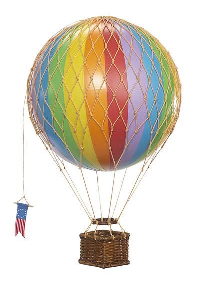 Rainbow Travels Light Hot Air Balloon