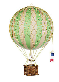 True Green Travels Light Hot Air Balloon