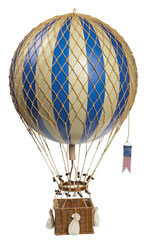 Blue Royal Aero Hot Air Balloon