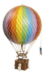 Rainbow Royal Aero Hot Air Balloon