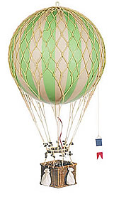 True Green Royal Aero Hot Air Balloon