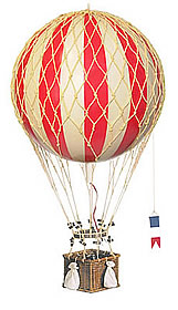 True Red Royal Aero Hot Air Balloon