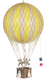 True Yellow Royal Aero Hot Air Balloon