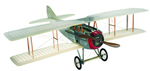 Transparent Spad Model Airplane