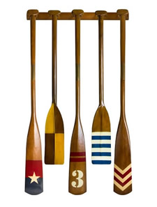 Royal Barge Oar Rack (Oars Sold Separately)