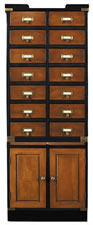 Collectors Cabinet, Doors
