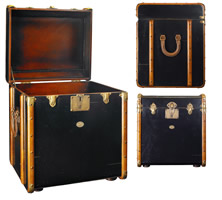 Black Stateroom End Table