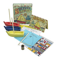 Kids Three Boats in a Box Kit
