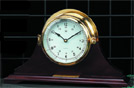 Brass Quartz Bell Striker Clock