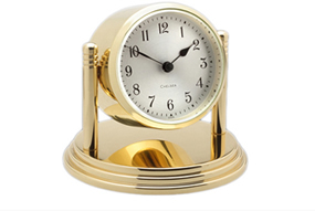 Chelsea Dartmouth Clock in Brass