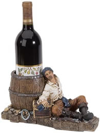 Pirate Wine Bottle Holder