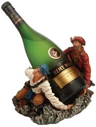 Two Pirates Wine Bottle Holder