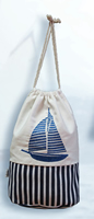 Sailboat Canvas Bag