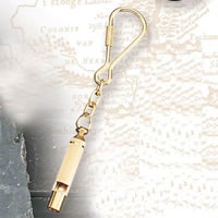 Set of Two Whistle Keychains
