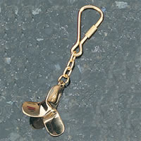 Set of Two Propeller Keychains