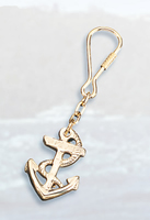 Set of Two Anchor Keychains