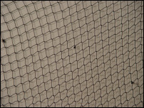 Black Decorative Fish Netting
