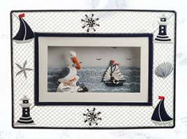 Nautical 3D Metal Plaque