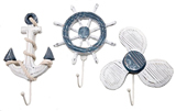 Anchor, Ship Wheel & Propeller Hangers