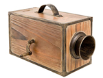 Wooden Fog Horn Box